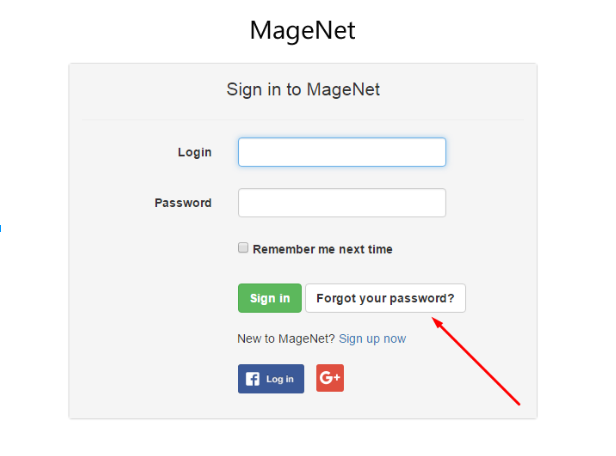 1.Sign in to MageNet