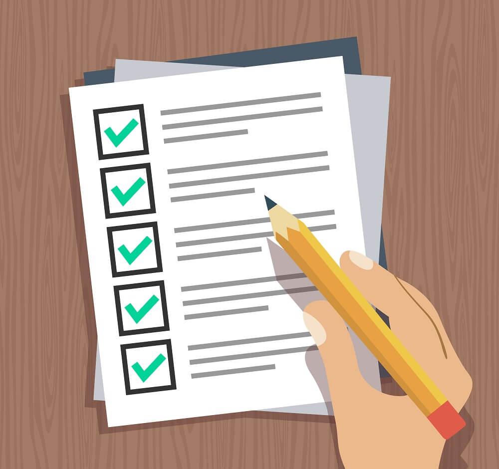 Subheads Checklist