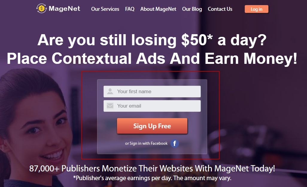 Sign up with MageNet
