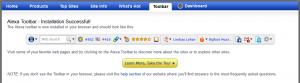 Alexa toolbar for Mozilla Firefox
