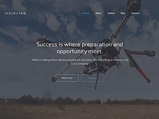 Video Company Website Template
