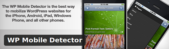WP Mobile Detector mobile plugin