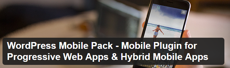 WordPress Mobile Pack 2.0 WordPress plugin