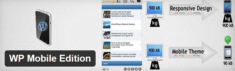 WP Mobile Edition WP plugin