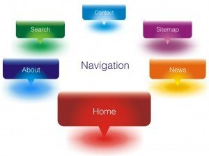 Website design advice: use easy navigation