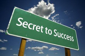 Secret to blogging success