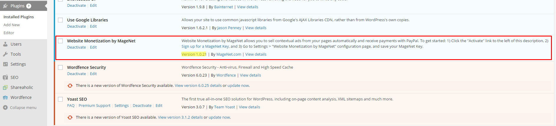 WordPress Monetization Plugin